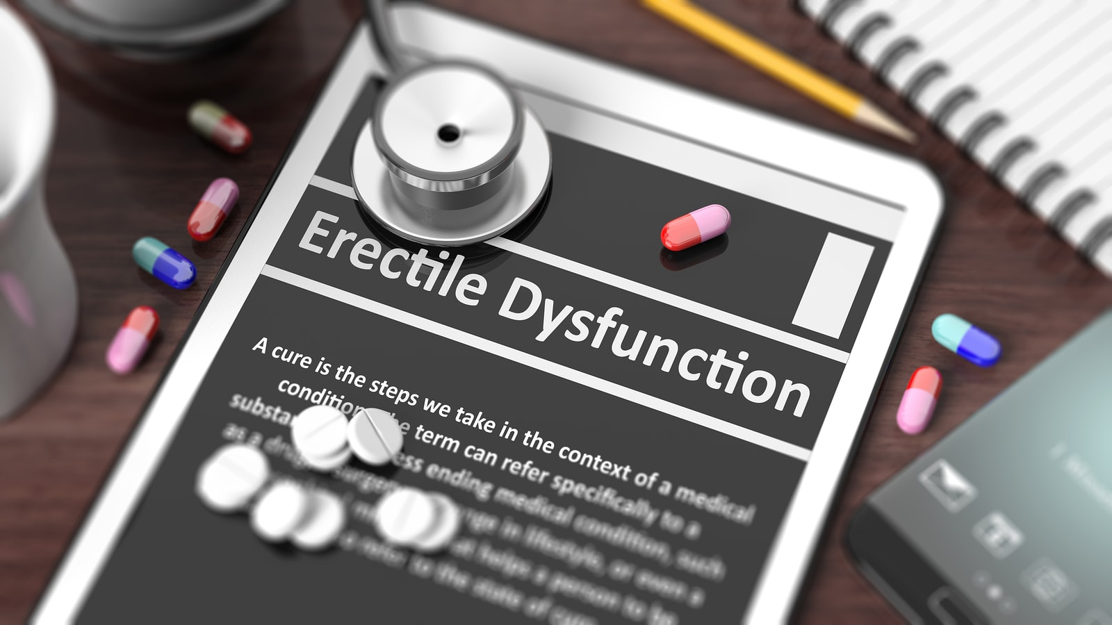 How widespread is erectile dysfunction? It is very difficult to estimate the proportion of male population throughout the world that suffers from erectile dysfunction, either occasionally or chronically. Most of the researches on the matter of erectile dysfunction were done only in recent years and were done either in the United States or Europe, but the problem of erectile dysfunction is worldwide. People have to be willing to talk whether they have the problem of erectile dysfunction. Because of the stigma associated with this issue, people may not want to open up about it. The following statistics may not be accurate, but rather gives us a frame of reference: Men under the age of 40. Erectile dysfunction (view disease info)affects 40 to 50 percent of men under age 40, at least once in their lives. Typically it is not chronic, partly because of the physical health of people under 40. It is estimated only 2 to 5 percent of men in this group have erectile dysfunction chronically. Men over the age of 40. In this group about 70 percent of men have experienced erectile dysfunction at least once in their lives. Around 15 to 20 percent of men in this group have this problem chronically. Primary erectile dysfunction and secondary erectile dysfunction Before getting to the list of the most common emotional factors, we need to consider two phases of erectile dysfunction. Primary Erectile dysfunction can be caused by a variety of factors: medication, physical issues, or psychological issues. Secondary causes of erectile dysfunction are psychological. These result in anxiety. Anxiety can be independent of what was the primary reason of erectile dysfunction. Anxiety when applied to erectile dysfunction means anticipation that once erectile dysfunction episode happened, it is going to repeat. Anxiety like this is typical for any other activity as well, as it produces exactly the result a man fears. 9 common psychological causes of erectile dysfunction include: General stress le